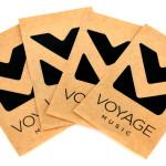 Voyage Music Logo – Sticker 4 pack