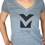 Voyage_Music_Model_Premium_Heather_Tshirt