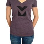 Voyage_Music_Model_Vintage_Purple_T-Shirt